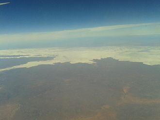 Lake Gairdner - Lake Gairdner, as viewed from the air.