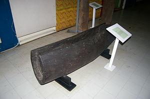 Lali (drum) - Image: Lali drum in Suva Museum