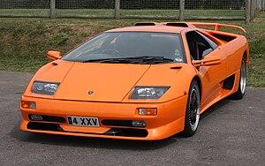 Lamborghini Diablo - Image: Lamborghini Diablo SV