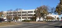 Lancaster County, Nebraska courthouse from SE.JPG