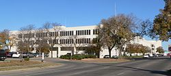 Lancaster County, Nebraska courthouse from SE.JPG