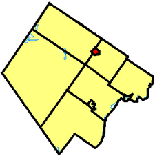 Location of Carleton Place in Lanark County