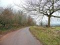 Lane to Columbjohn - geograph.org.uk - 1671724.jpg
