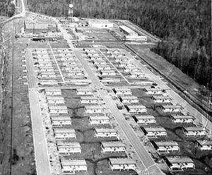 22d Air Defense Missile Squadron - Langley BOMARC site, 1965