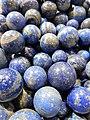 Lapis lazuli spheres.jpg