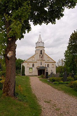 Lapės church