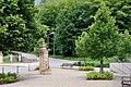 Lasauvage place de Saintignon fontaine.jpg