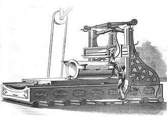 Alexander Bonner Latta - Latta's lathe and planing machine