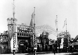 International Electrotechnical Exhibition - Image: Lauffen Frankfurt 1891c