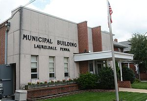 Laureldale, Pennsylvania - Laureldale Borough Hall