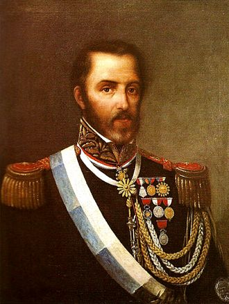 Decembrist revolution (Argentina) - Juan Lavalle, leader of the coup