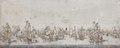 Lavering. Sjöstycke. Sjöslag. Slaget vid Femern belt - Skoklosters slott - 88975.tif