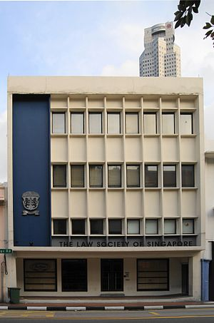 Law Society of Singapore - The headquarters of the Law Society of Singapore at South Bridge Road