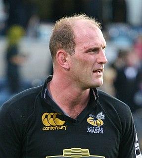 Lawrence Dallaglio British Lions & England international rugby union footballer