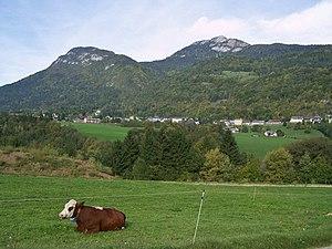 Le Châtelard, Savoie - A general view of Le Châtelard