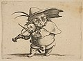 Le Joueur de Violon (The Violin Player), from Varie Figure Gobbi, suite appelée aussi Les Bossus, Les Pygmées, Les Nains Grotesques (Various Hunchbacked Figures, The Hunchbacks, The Pygmes, The Grotesque Dwarfs) MET DP818584.jpg