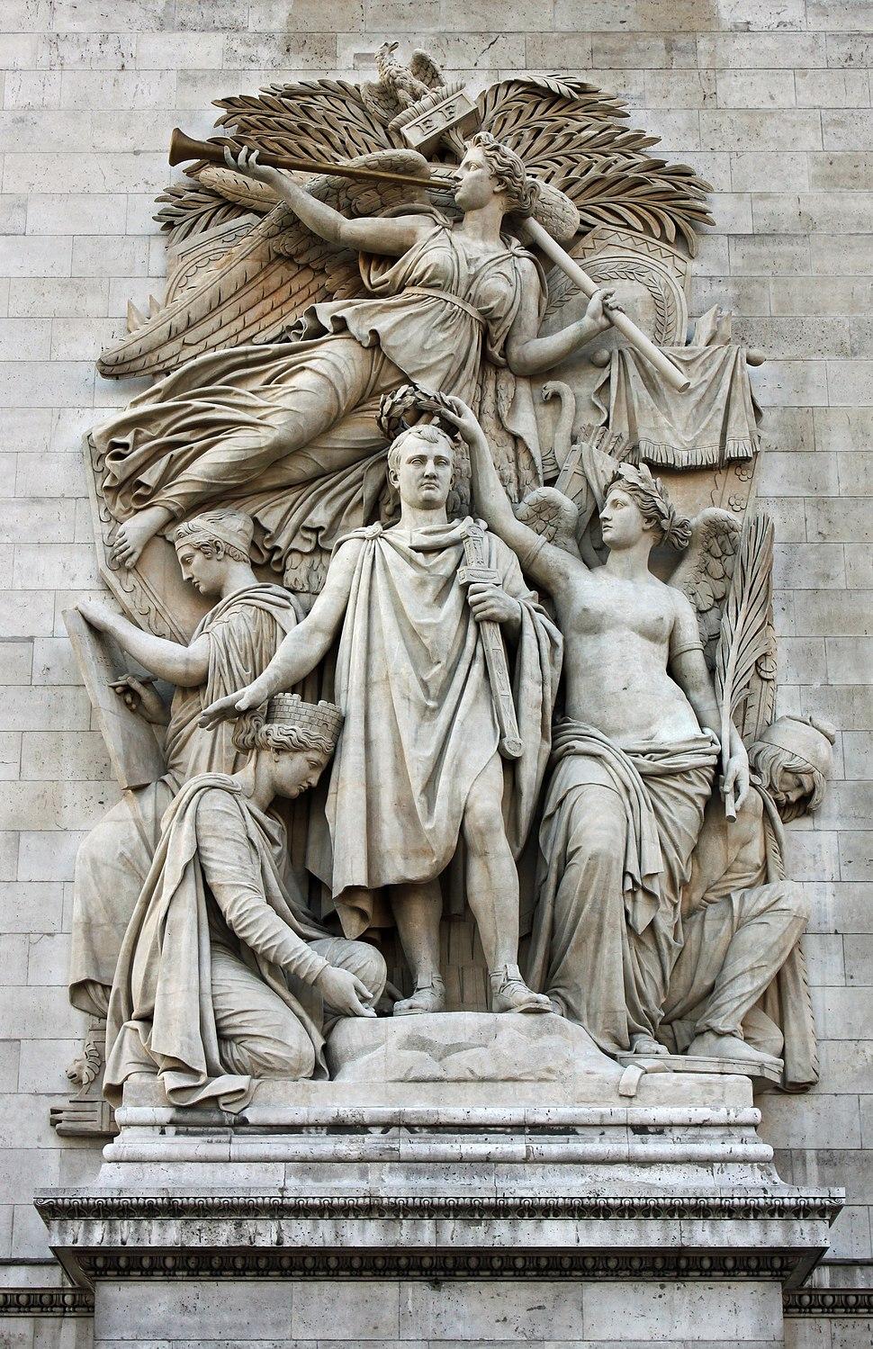 Le triomphe de 1810 jean-pierre cortot