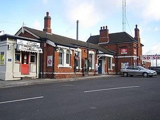 Leagrave railway station - Image: Leagrave Railway
