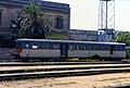 Lecce - stazione ferroviaria - automotrice FSE Ad 06 - 30-06-1986.jpg