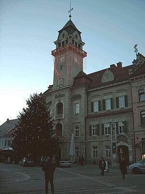 Leibnitz - Image: Leibnitz town hall 21 12 2005