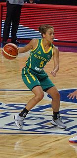 Leilani Mitchell Australian basketball player