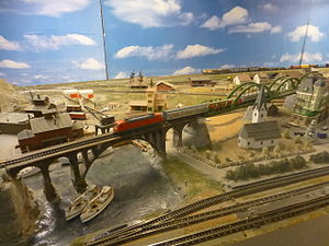 Leksaksmuseet - Model railway layouts 04.JPG