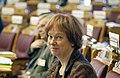 Leni Bjorklund, forsvarsminister, Sverige (Bilden ar tagen vid Nordiska radets session i Oslo, 2003) (1).jpg