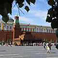 Lenin's Mausoleum and the Kremlin (15359681499).jpg