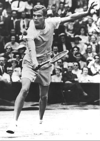 Lennart Bergelin - Bergelin in 1950
