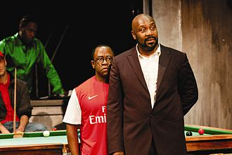 Lenny Henry - Lenny Henry (right) in The Comedy of Errors in 2011
