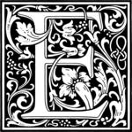 האות E