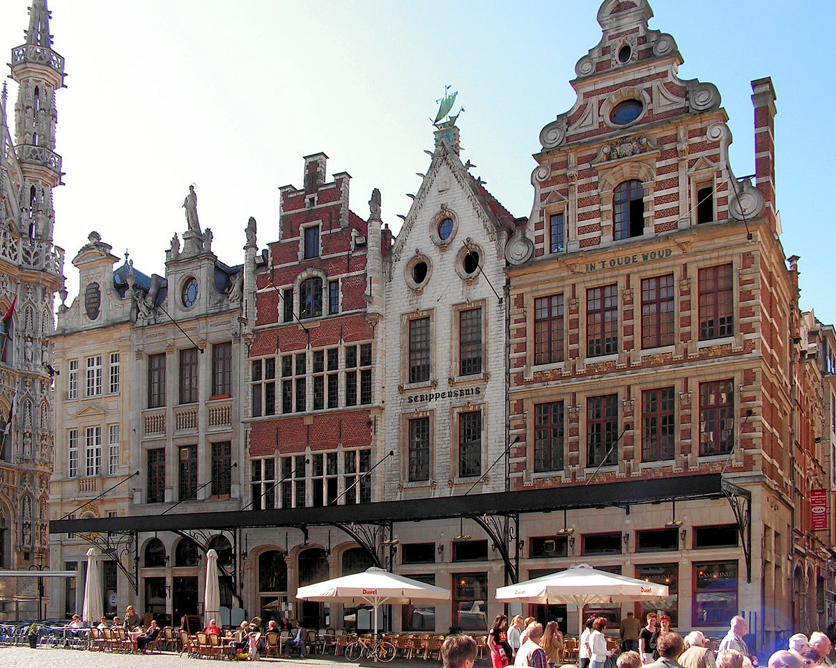grote markt leuven wikipedia. Black Bedroom Furniture Sets. Home Design Ideas
