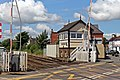 Level crossing and signal box, Gobowen (geograph 4024051).jpg