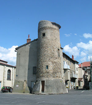 Lezoux - A tower remain of the city defense wall