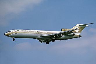 Libyan Arab Airlines Flight 1103 - Image: Libyan Arab Airlines Boeing 727 200 Fitzgerald 1