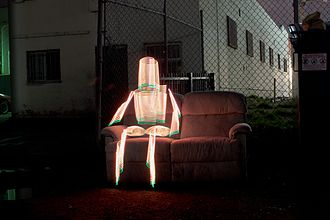 "2wenty - ""Lightman"", Los Angeles, 2013, Photograph by 2wenty"