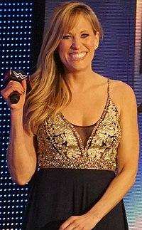 Lilian Garcia WWE Hall of Fame April 2018.jpg