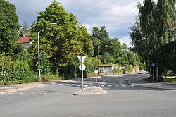 Lilleakerveien from Bestumveien towards Oslofjorden - 2014-07-14 - jpfagerback 6117.JPG