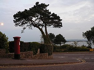 Lilliput, Dorset - Image: Lilliput, postbox No. BH14 15, Crichel Mount Road geograph.org.uk 976895