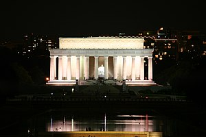 Memorials to Abraham Lincoln - Lincoln Memorial in Washington, D.C.