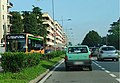 Linea Autobus C circolare rossa di Autoguidovie a San Donato Milanese.jpg