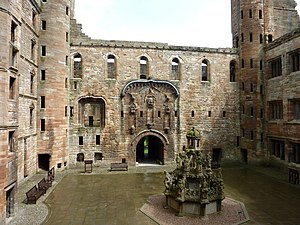 A Satire of the Three Estates -  The 1540 interlude was performed in the hall of Linlithgow Palace