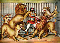 Lion tamer (LOC pga.03749)