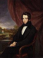 Lionel Nathan de Rothschild by Moritz Daniel Oppenheim