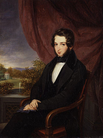 Lionel de Rothschild - Lionel de Rothschild, by Moritz Daniel Oppenheim, 1835