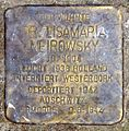 Lisamaria Meirowsky Stolperstein.jpg