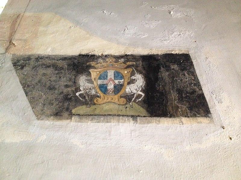 Litre funéraire de l'église de Sougères-en-Puisaye (1785).
