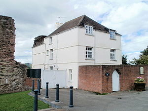 The Dispensary, Monmouth - Little Castle House was the previous Dispensary