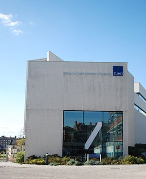 John Lennon Art and Design Building - The John Lennon Art and Design Building viewed from Great Orford Street