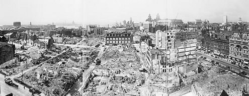 Liverpool city centre after heavy bombing Liverpool Blitz D 5984.jpg